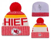 Wholesale Cheap NFL Kansas City Chiefs Logo Stitched Knit Beanies 002