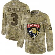 Wholesale Cheap Adidas Panthers #3 Keith Yandle Camo Authentic Stitched NHL Jersey