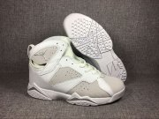 Wholesale Cheap Air Jordan 7 Pure money White/Grey