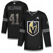 Wholesale Cheap Adidas Golden Knights #41 Pierre-Edouard Bellemare Black Authentic Classic Stitched NHL Jersey