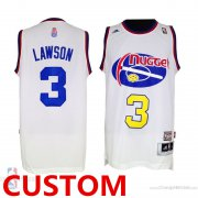 Wholesale Cheap Men's Custom Nuggets ABA Hardwood Classic Swingman White Jersey