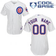 Wholesale Cheap Cubs Personalized Authentic White MLB Jersey (S-3XL)
