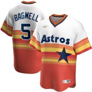 Wholesale Cheap Houston Astros #5 Jeff Bagwell Nike Home Cooperstown Collection Player MLB Jersey White