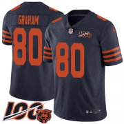Wholesale Cheap Nike Bears #80 Jimmy Graham Navy Blue Alternate Men's Stitched NFL 100th Season Vapor Untouchable Limited Jersey