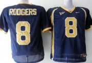 Wholesale Cheap California Golden Bears #8 Rodgers Blue Jersey