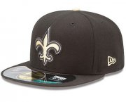Wholesale Cheap New Orleans Saints fitted hats 03