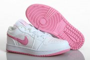 Wholesale Cheap Womens Air Jordan 1 Retro Shoes Pink/white