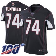 Wholesale Cheap Nike Cardinals #74 D.J. Humphries Black Alternate Men's Stitched NFL 100th Season Vapor Limited Jersey