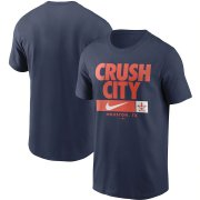 Wholesale Cheap Houston Astros Nike Local Nickname T-Shirt Navy