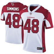 Wholesale Cheap Nike Cardinals #48 Isaiah Simmons White Youth Stitched NFL Vapor Untouchable Limited Jersey