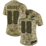 Wholesale Cheap Nike Eagles #88 Dallas Goedert Camo Women's Stitched NFL Limited 2018 Salute to Service Jersey