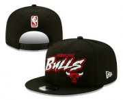 Wholesale Cheap Chicago Bulls Snapback Snapback Ajustable Cap Hat YD 2