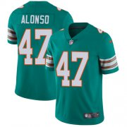 Wholesale Cheap Nike Dolphins #47 Kiko Alonso Aqua Green Alternate Men's Stitched NFL Vapor Untouchable Limited Jersey