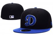 Wholesale Cheap Los Angeles Dodgers fitted hats 03