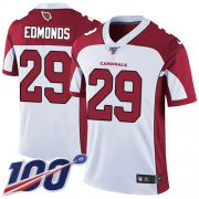 Wholesale Cheap Nike Cardinals #29 Chase Edmonds White Men's Stitched NFL 100th Season Vapor Limited Jersey