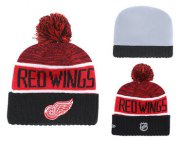 Wholesale Cheap NHL DETROID RED WINGS Beanies 1