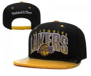 Wholesale Cheap NBA Los Angeles Lakers Snapback Ajustable Cap Hat XDF 015