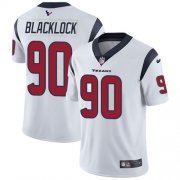Wholesale Cheap Nike Texans #90 Ross Blacklock White Youth Stitched NFL Vapor Untouchable Limited Jersey