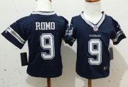 Wholesale Cheap Toddler Nike Cowboys #9 Tony Romo Navy Blue Team Color Stitched NFL Elite Jersey