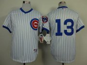 Wholesale Cubs #13 Starlin Castro White 1988 Turn Back The Clock Stitched Baseball Jersey