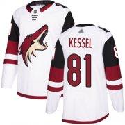 Wholesale Cheap Adidas Coyotes #81 Phil Kessel White Road Authentic Stitched NHL Jersey