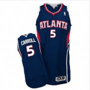 Wholesale Cheap Revolution 30 Atlanta Hawks #5 DeMarre Carroll Blue Stitched NBA Jersey