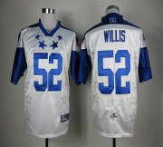 Wholesale Cheap 49ers #52 Patrick Willis White 2012 Pro Bowl Stitched NFL Jersey