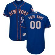 Wholesale Cheap New York Mets Majestic Alternate Authentic Collection Flex Base Custom Jersey Royal