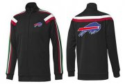 Wholesale Cheap NFL Buffalo Bills Team Logo Jacket Black