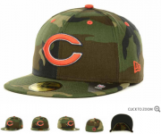 Wholesale Cheap Chicago Bears fitted hats 08