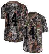 Wholesale Cheap Nike Vikings #14 Stefon Diggs Camo Youth Stitched NFL Limited Rush Realtree Jersey