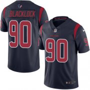 Wholesale Cheap Nike Texans #90 Ross Blacklock Navy Blue Youth Stitched NFL Limited Rush Jersey