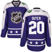 Wholesale Cheap Wild #20 Ryan Suter Purple 2017 All-Star Central Division Stitched Youth NHL Jersey