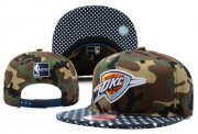 Wholesale Cheap NBA Oklahoma City Thunder Snapback Ajustable Cap Hat XDF 039