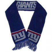 Wholesale Cheap New York Giants Ladies Metallic Thread Scarf Blue