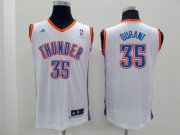 Cheap Oklahoma City Thunder #35 Kevin Durant White Kids Jersey
