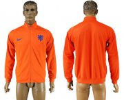 Wholesale Cheap Holland Soccer Jackets Orange