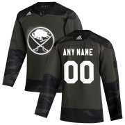 Wholesale Cheap Buffalo Sabres Adidas 2019 Veterans Day Authentic Custom Practice NHL Jersey Camo