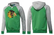 Wholesale Cheap Chicago Blackhawks Pullover Hoodie Green & Red