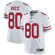 Wholesale Cheap Nike 49ers #80 Jerry Rice White Youth Stitched NFL Vapor Untouchable Limited Jersey