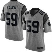 Wholesale Cheap Nike Panthers #59 Luke Kuechly Gray Men's Stitched NFL Limited Gridiron Gray Jersey
