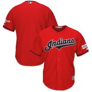 Wholesale Cheap Cleveland Indians Blank Majestic Alternate 2019 All-Star Game Patch Cool Base Team Jersey Scarlet
