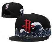 Wholesale Cheap Houston Rockets Snapback Ajustable Cap Hat YD