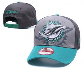 Wholesale Cheap NFL Miami Dolphins Stitched Snapback Hats 071