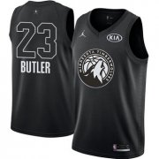 Wholesale Cheap Nike Timberwolves #23 Jimmy Butler Black NBA Jordan Swingman 2018 All-Star Game Jersey