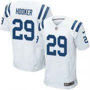 Wholesale Cheap Nike Colts #29 Malik Hooker White Men's Stitched NFL Elite Jersey