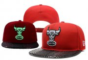 Wholesale Cheap NBA Chicago Bulls Snapback Ajustable Cap Hat YD 03-13_23