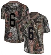 Wholesale Cheap Nike Browns #6 Baker Mayfield Camo Youth Stitched NFL Limited Rush Realtree Jersey
