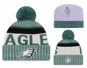 Wholesale Cheap NFL Philadelphia Eagles Logo Stitched Knit Beanies 009