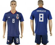 Wholesale Cheap Japan #8 Haraguchi Home Soccer Country Jersey